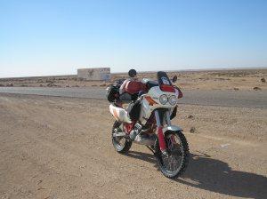 Return leg from Dakar
