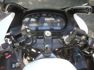 FJ1200 dash