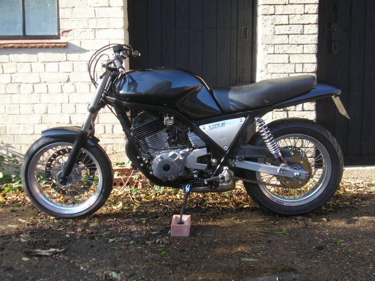 SRX640 left side